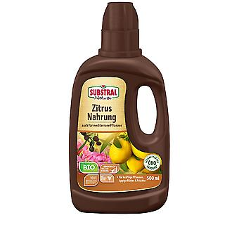 SUBSTRAL® Nature® Citrus & Mediterranean Plants Food Organic, 500 ml