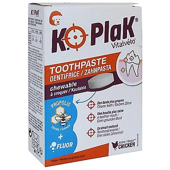 Vitalvéto K.O Plak Toothpaste Tablets Dog (Dogs , Grooming & Wellbeing , Dental Hygiene)