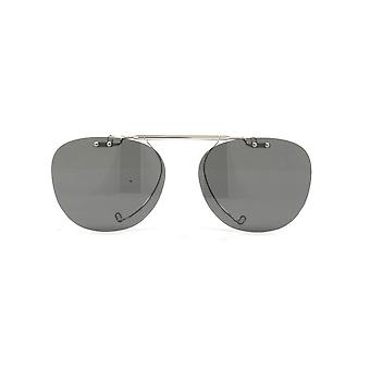 Oliver Peoples Sheldrake Clip-on OV5036C 5036 Silver/Polarised Grey Sunglasses