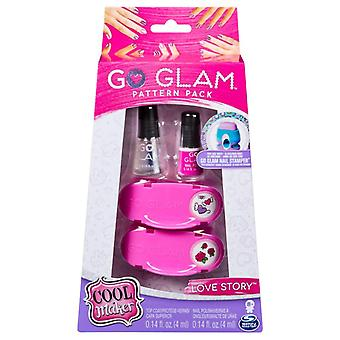 Cool Maker Go Glam Nails Fashion Pack - Love Story