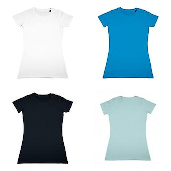 Nakedshirt Womens/Ladies Ruth Organic Cotton Slim Fit T-Shirt