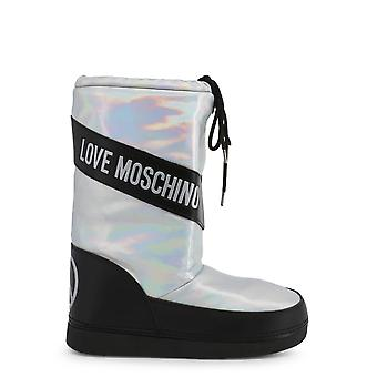 Love Moschino Original Women Fall/Winter Sneakers - Grey Color 54613