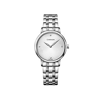 Wenger ladies Quartz analogue watch with stainless steel band 01.1721.109