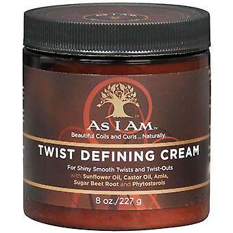 As i am twist defining cream for hair, 8 oz