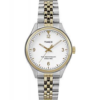 Timex TW2R69500 Waterbury Tradycyjny dwu-tonowy zegarek na rękę