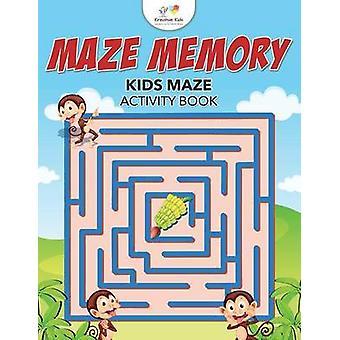 Maze Memory Kids Maze Activity Book by Kreative Kids