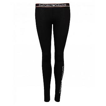 Emporio Armani Loungewear Logo Waistband Leggings