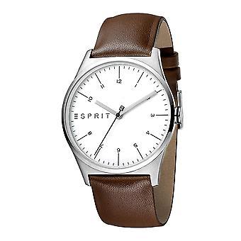 Esprit ES1G034L0015 Essential Silver Brown Herrenuhr