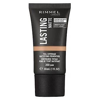 Rimmel London Lasting Matte Foundation Tono 300
