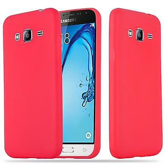 Case for Samsung Galaxy J3 / J3 DUOS 2016 Flexible TPU Silicone Phone Case - Cover - ultra slim