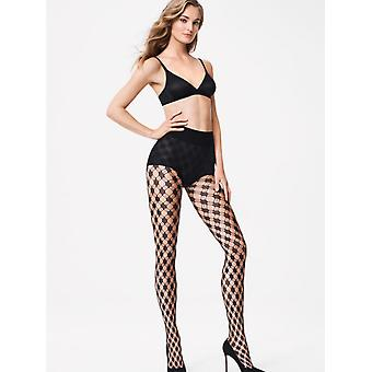 Wolford Athina Wide Net Patterned Tights