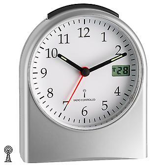TFA radio väckarklocka digitala sekunder display Afterwake automatisk belysning
