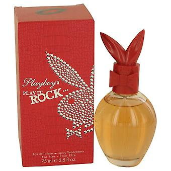 Playboy Play It Rock Eau De Toilette Spray By Playboy 2.5 oz Eau De Toilette Spray
