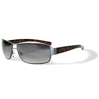 Bloc Eyewear Antique Gun / Tortoise Sunglasses (BG12 Brown Cat 3 Lens)