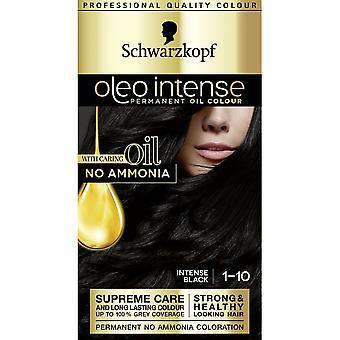 شوارزكوف Oleo لون الشعر المكثف - 1-10 مكثفة الأسود