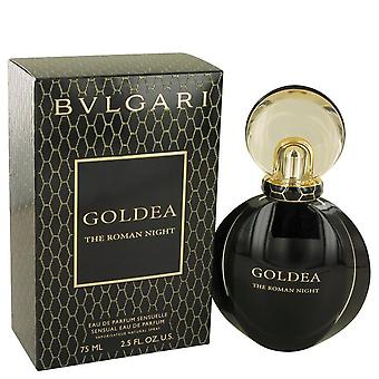 Bvlgari Goldea o noite romana Eau De Parfum Spray por Bvlgari 2,5 oz Eau De Parfum Spray