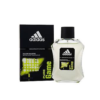 Adidas Pure Game Eau de Toilette 100ml Spray For Him