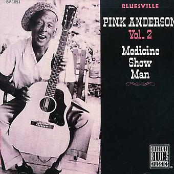 Pink Anderson - Medicine Show Man [CD] USA import