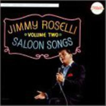Jimmy Roselli - Saloon Songs # 2 [CD] USA import