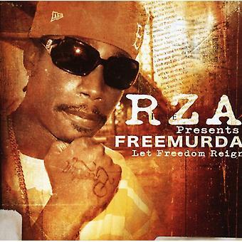 RZA presenta Murda gratis - importación dejó libertad reinado [CD] Estados Unidos
