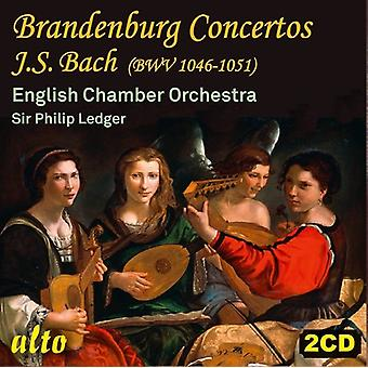 J.S. Bach: Brandenburgconcertos Bwv 1046-51 [CD] USA import