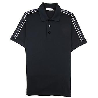 Givenchy Band Polo Shirt Schwarz