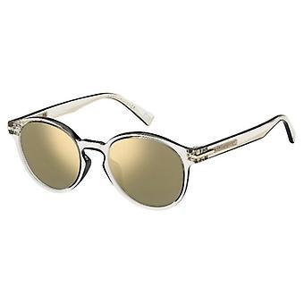 Marc Jacobs Marc 224/S MNG/JO Crystal Black/Grey-Bronze Mirror Sunglasses