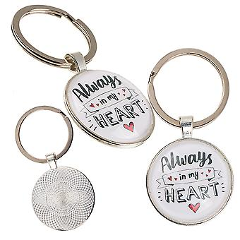 Altijd in My Heart Metal Keyring - Cracker Filler Gift