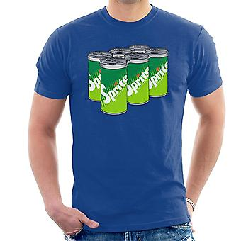 Sprite Retro 70s Logo Cans Men's T-Shirt