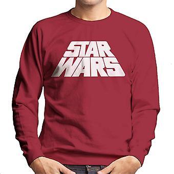 Star Wars Warped Logo Homme-apos;s Sweatshirt