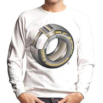 Motorsport Images Pirelli Dæk Diagram Mænd's Sweatshirt