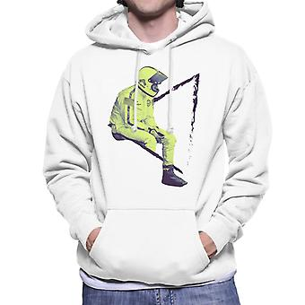 Motorsport Images Steve McQueen Sitting Men's Hooded Sweatshirt