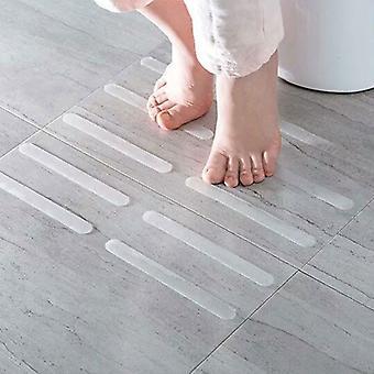المضادة زلة الحمام دش ملصقات - عملي وشفاف غير زلة شرائط السلامة حصيرة لأحواض الاستحمام دش الدرج والكلمة