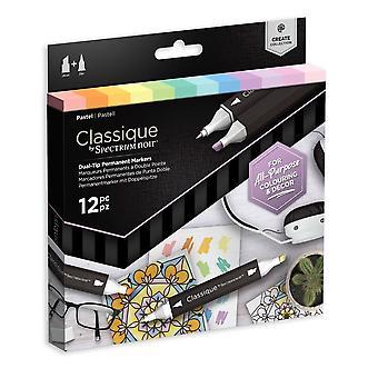 Spectrum Noir Classique Pastel (12pcs) (SPECN-CS12-PAS)