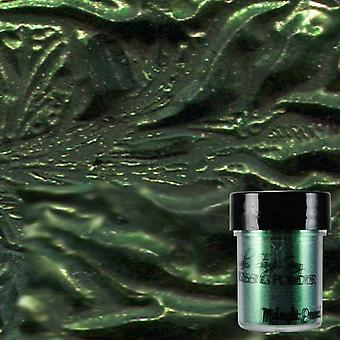 Lindy's Stamp Gang Midnight Emerald Obsidian Embossing Powder