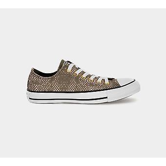 كونفيرس Ctas 557974C القرش طباعة المدربين الأخضر / المرأة البيضاء & أحذية S الأحذية
