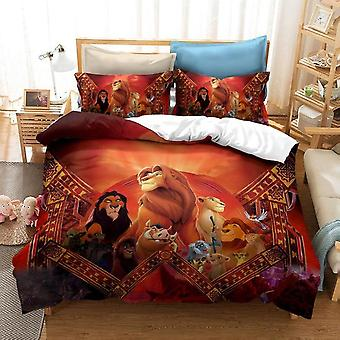 Disney The Lion King Simba Cartoon Capa set Bedroom