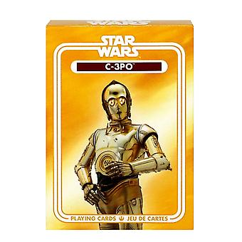 Star Wars C-3PO Playing Cards