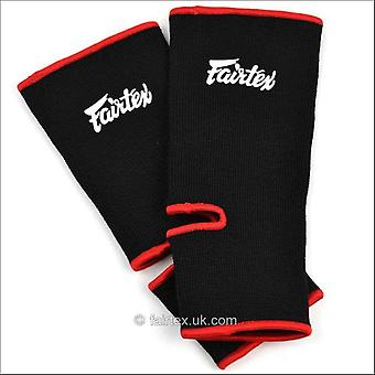 Fairtex ankle support - black red