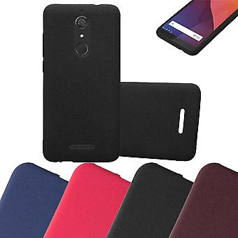 Cadorabo Case cover for WIKO VIEW Case Cover - Mobile phone case made of flexible TPU silicone - silicone case protective case Ultra Slim Soft Back Cover Case Bumper