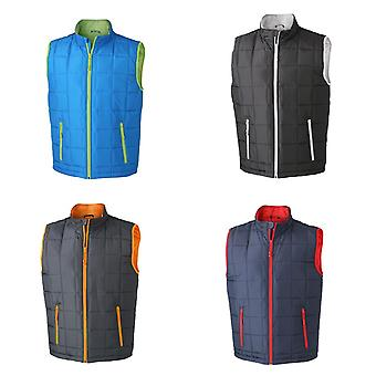 James and Nicholson Mens Padded Lightweight Vest