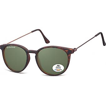 Sunglasses Unisex by SGB Brown/Green (Turtle) (MP33)