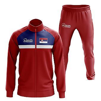 Сербия Концепция футбол спортивный костюм (красный)