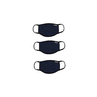 Hype Face Mask 3 Pk (navy)