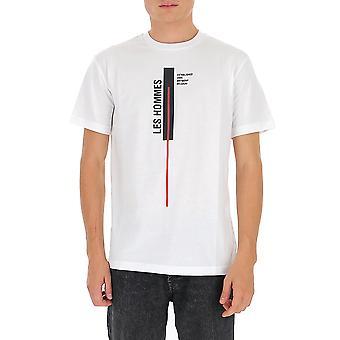 Les Hommes Ljt201700p1000 Men's White Cotton T-shirt