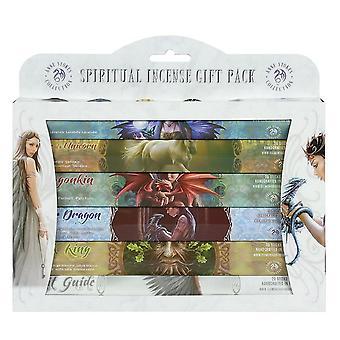 Anne Stokes andliga rökelse gåva Pack (förpackning med 6)