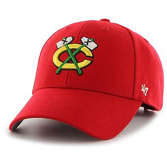 47 fire Adjustable Cap - MVP Chicago Blackhawks Red