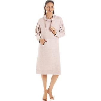 Camille Womens Pink Hacci Lounger