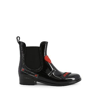 Love Moschino - shoes - ankle boots - JA21043G1BIR_1000 - ladies - black,red - EU 38