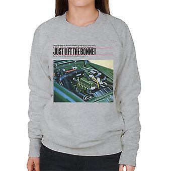 Austin Healey Just Lift The Bonnet British Motor Heritage Women's Sweatshirt